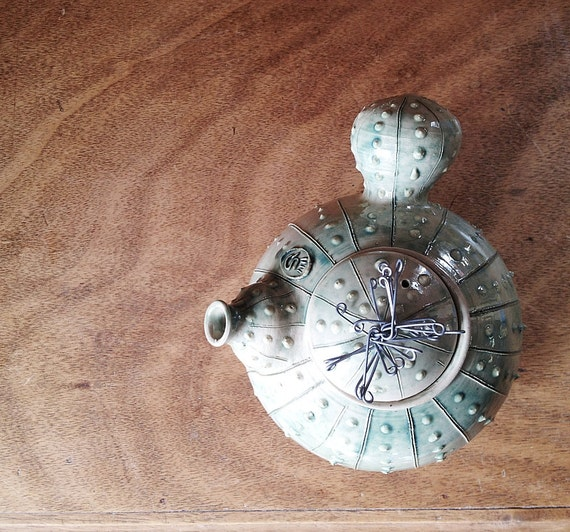 Ceramic  Cactus Teapot  - Stoneware (grès) Teapot