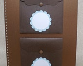 Keepsake Pockets for Baby Memories-Add on to Baby Book