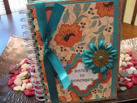 Dates to Remember Book / Perpetual Calendar / Birthday Anniversary Book -- 2012-78