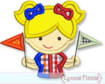 HOUSE DIVIDED Girl Football Fan 4x4 5x7 6x10 7x11 Machine Embroidery Design fall game  INSTANT Download