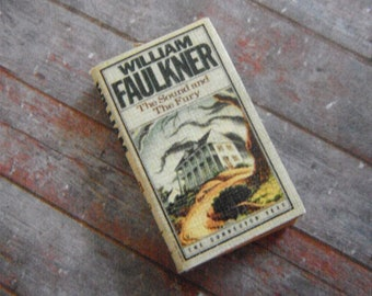 Miniature Book --- Sound and the Fury