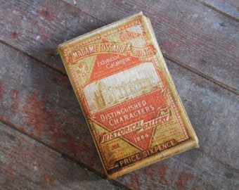 Miniature Book --- Madame Tussaud Exhibition Catalogue