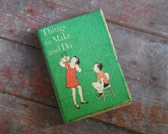 Miniature Book --- Things to Make and Do