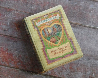 Miniature Book --- Hans Christian Anderson Fairy Tales