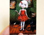 Valetto ACEO/ATC 2.5x3.5 Artist Trading Card Mini Premium Fine Art Print