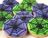 Spider's Web cookies 1 dozen