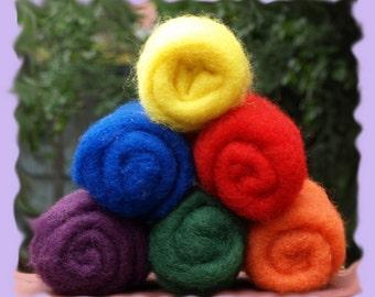 Norwegian C-1 Needle Felting Wool   Primary Collections