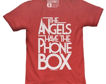 The Angels Have The Phone Box T-shirt White/Red