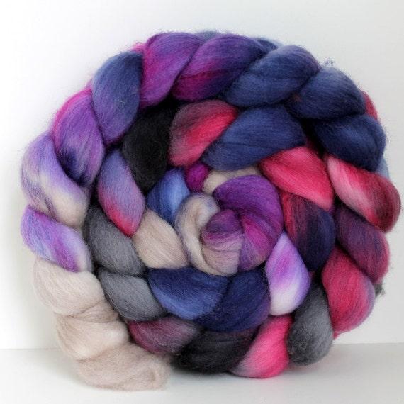WINE TRAIL -  Merino Wool Top Roving 4oz
