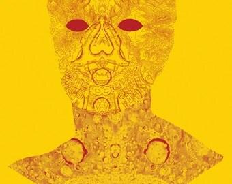 Titan Head Print