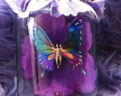 SALE Freshly caught fairy in jam jar, paper weight 3FOR2 Cheapest item FREE