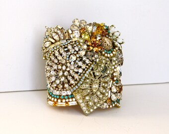 Doloris Petunia One of a Kind Custom Cuff Example