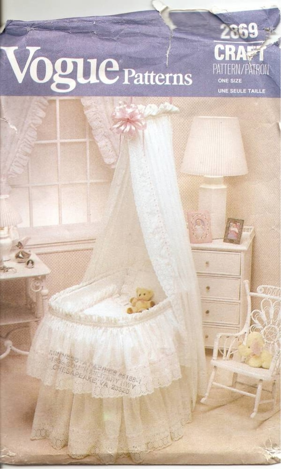 Bassinet Skirt Patterns 96