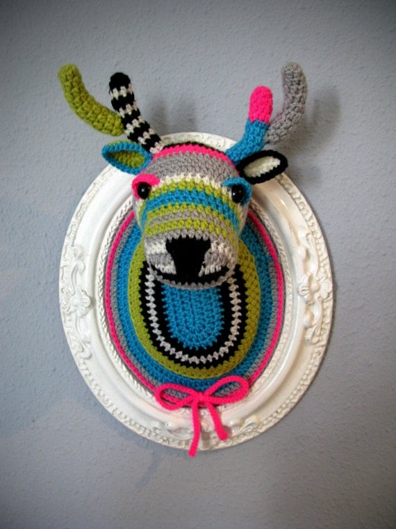 Crochet deer head (Big)