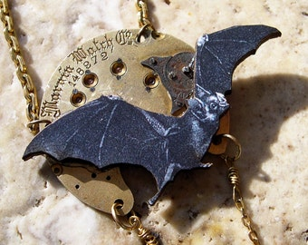 Steampunk Necklace - Free Domestic Shipping