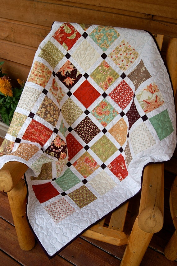 quilt early fall handmade tapestry throw