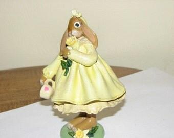 Enesco Donna Little, Daffodill Rabbit