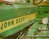 Vintage John Deere 8x12 print - John Deere Decor - John Deere Sign - John Deere Bedroom - John Deere Boys Room Theme - John Deere Photograph