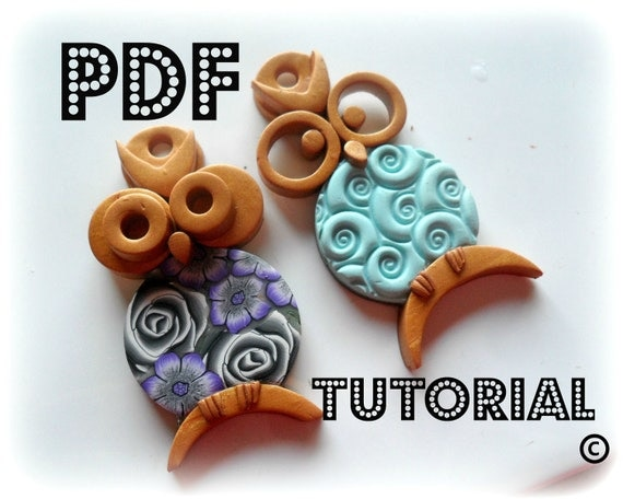 PDF  - Polymer Clay OWLS Tutorial