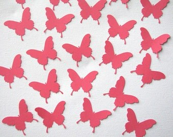 Butterfly die cut embellishments set of 20 in any color