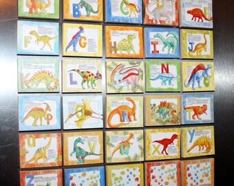 Dinosaur Alphabet Magnets Learn Your ABC's MG0001