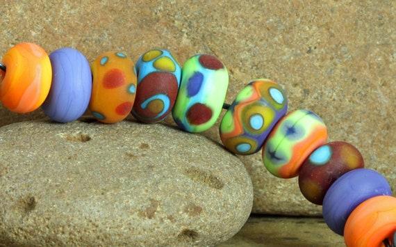 VENUS BEADS LAMPWORK                 Itty Bitty Water Color Bead Set