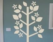 Vinyl Wall Decal -  Blooming Tree 2