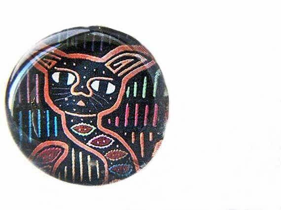Egyptian Cat Magnet Refrigerator Magnet Office Magnet
