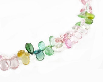 necklace of tourmaline flowers