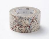 mt ex Washi Masking Tape - Map