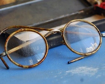 grandpa's glasses... antique or vintage glasses...    home decoR  h   Aug 10