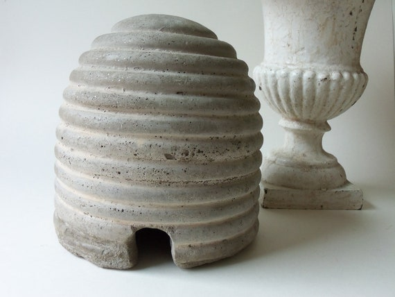 cement bees skep beehive