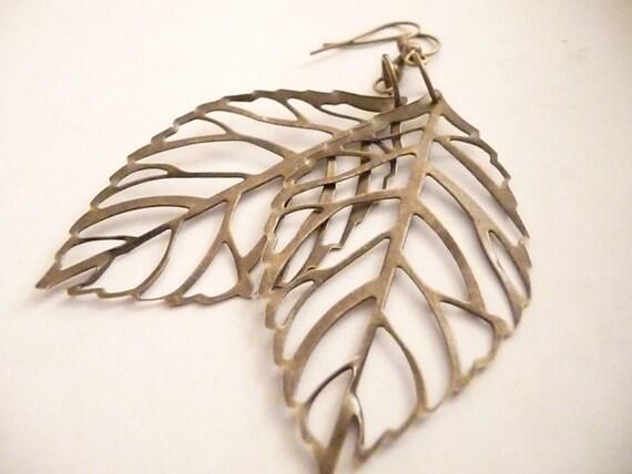 Leaf Earrings - The Leafy Earrings
