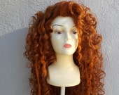SALE Princess Merida Brave Adult Costume Wig - A True Enchantment Original