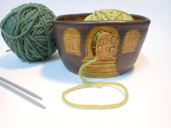 Country Cottage Yarn Bowl