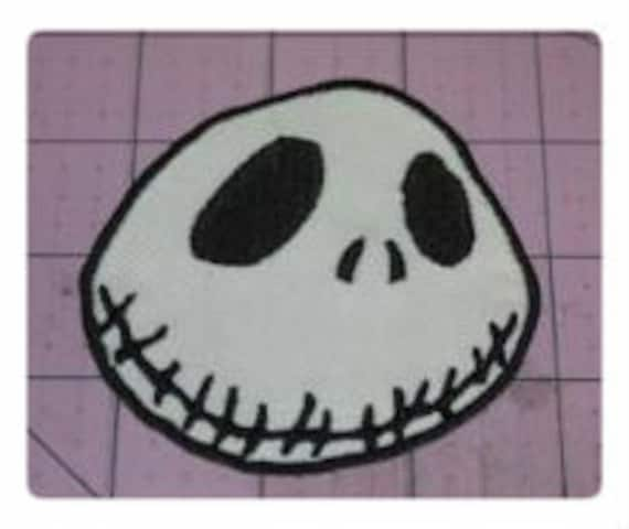 Nightmare Before Christmas Jack Iron on Patch