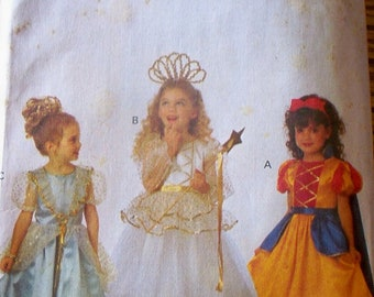 Princess Costume Pattern by Butterick