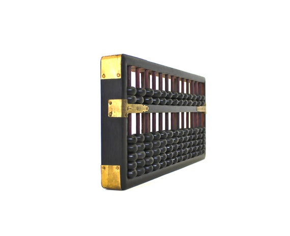 No Calculator Allowed - Vintage Abacus - Vintage Wooden Abacus Made in Hong Kong
