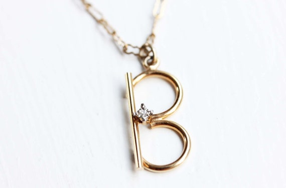 Crystal B Necklace
