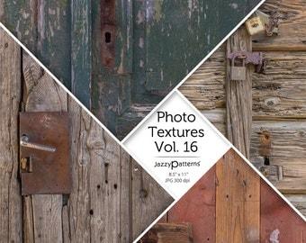 Photo Textures Old Wood Doors digital photo background texture  Vol.16