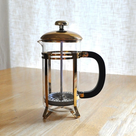 Original French Press Coffee Maker : vintage french press coffee maker with original brochure