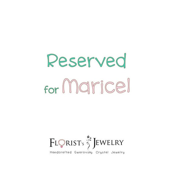 RESERVED for Maricel - Handmade Unique Luxurious Asymmetric Floral Swarovski Rivoli Pendant Swarovski pearls beaded collar necklace