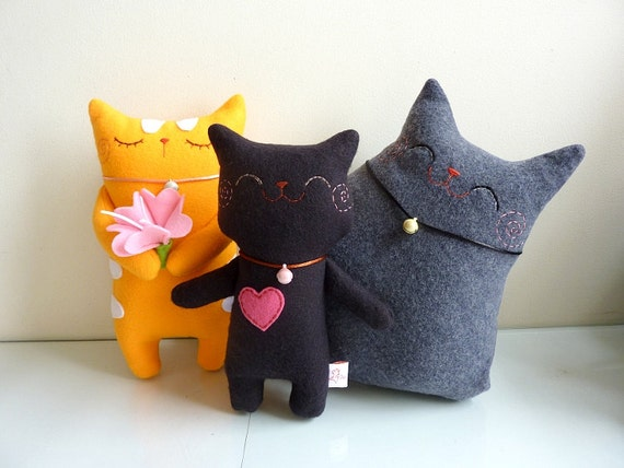 RESERVED LISTING FOR Inacloud - Plush Cats