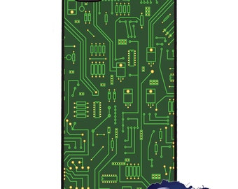 Computer Circuit Board - iPhone Cover, Case