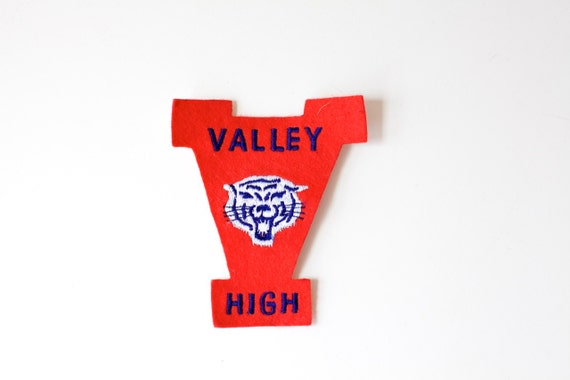 Vintage Patch VALLEY HIGH