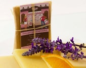 Sample Size Soap: Lavender Tangerine Soap, Handmade Soap, Natural Soap, Cold Process Soap, Vegan Soap Sample Bar
