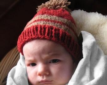 Baby Touque with Pom Pom
