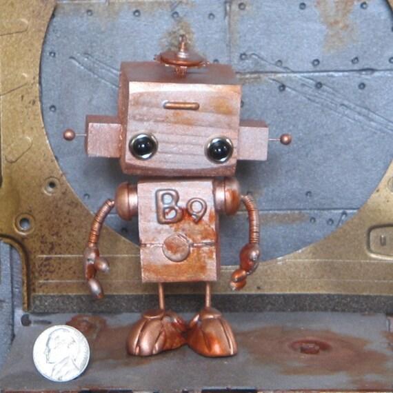 Steampunk Robot B9