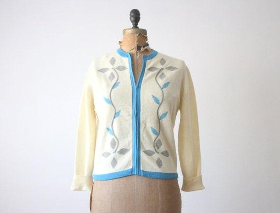 1950s cardigan - 50's garland cardigan
