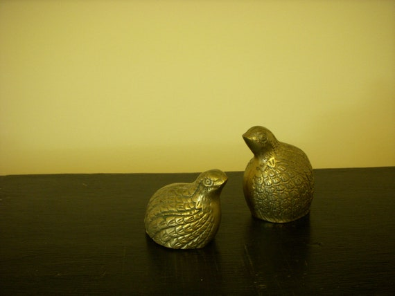 Brass Pheasants pair